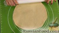 Фото приготовления рецепта: Постный вишневый пирог - шаг №9