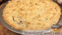Фото приготовления рецепта: Постный вишневый пирог - шаг №13