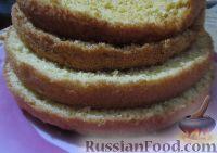 Фото приготовления рецепта: Бисквитный торт с мармеладом - шаг №2