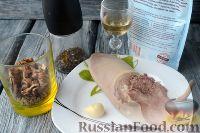 Фото приготовления рецепта: Салат из языка с грецкими орехами - шаг №1