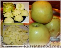 Фото приготовления рецепта: Утка, тушенная в яблоках, с жареной Антоновкой - шаг №5