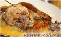 Фото приготовления рецепта: Утка, тушенная в яблоках, с жареной Антоновкой - шаг №8
