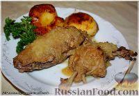 Фото приготовления рецепта: Утка, тушенная в яблоках, с жареной Антоновкой - шаг №12