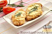 Фото к рецепту: Шницель из куриного филе