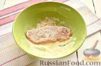 Фото приготовления рецепта: Шницель из куриного филе - шаг №4
