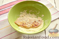 Фото приготовления рецепта: Шницель из куриного филе - шаг №6