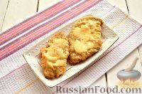 Фото приготовления рецепта: Шницель из куриного филе - шаг №9