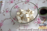 Фото приготовления рецепта: Жареный тофу с овощами - шаг №2