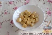 Фото приготовления рецепта: Жареный тофу с овощами - шаг №5