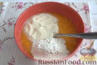 Фото приготовления рецепта: Запеканка из тыквы (в мультиварке) - шаг №5