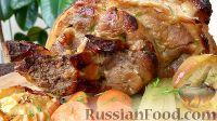 Фото к рецепту: Свиная рулька в пиве, по-баварски
