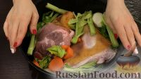 Фото приготовления рецепта: Свиная рулька в пиве, по-баварски - шаг №4