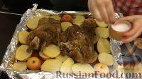 Фото приготовления рецепта: Свиная рулька в пиве, по-баварски - шаг №17