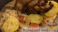 Фото приготовления рецепта: Свиная рулька в пиве, по-баварски - шаг №22