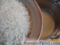 Фото приготовления рецепта: Каша рисовая молочная - шаг №4