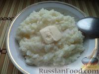 Фото приготовления рецепта: Каша рисовая молочная - шаг №7