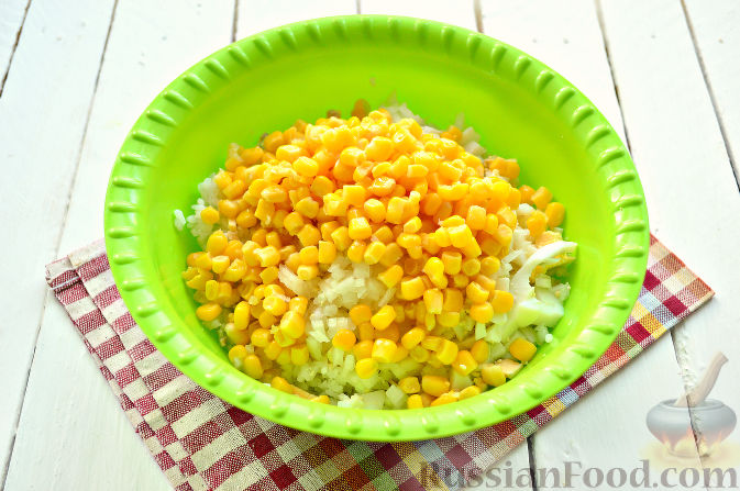салат с тунцом рецепт и рисом рецепт