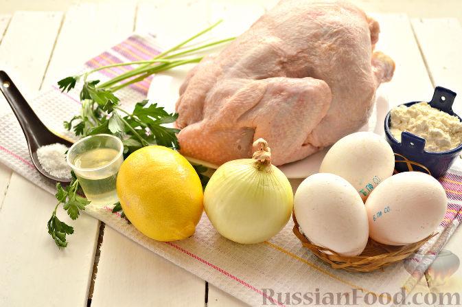 Рецепт супа из курицы по грузински