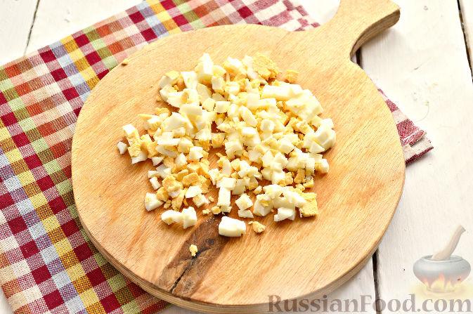 салат из ананасов и кукурузой классический рецепт