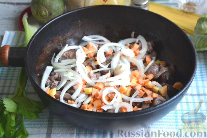 Фото приготовления рецепта: Лагман по-узбекски - шаг №5