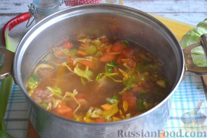 Фото приготовления рецепта: Лагман по-узбекски - шаг №11