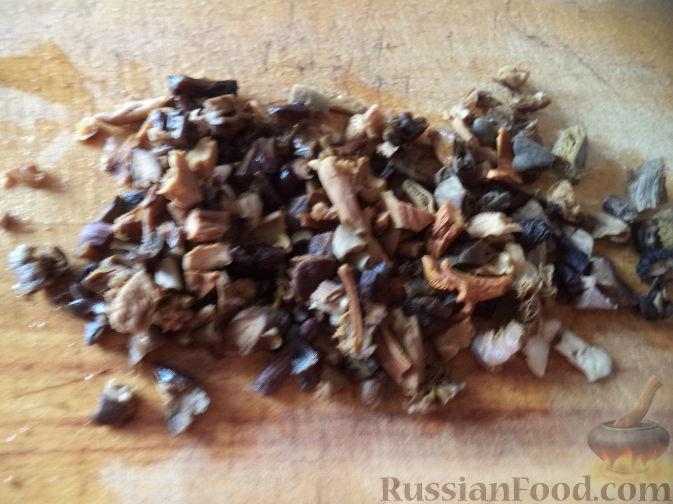 суп из сушеных грибов с картофелем рецепт с фото