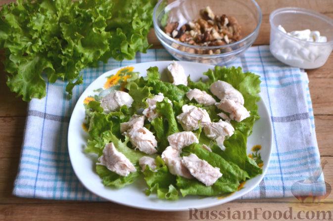 Фото приготовления рецепта: Салат по-гавайски - шаг №6