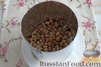 Фото приготовления рецепта: Праздничный винегрет с картофельными чипсами - шаг №7