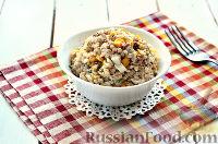Фото к рецепту: Салат с тунцом и рисом