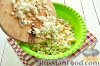 Фото приготовления рецепта: Салат с тунцом и рисом - шаг №4