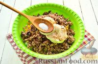 Фото приготовления рецепта: Салат с тунцом и рисом - шаг №9