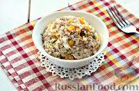 Фото приготовления рецепта: Салат с тунцом и рисом - шаг №10