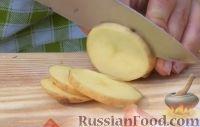 Фото приготовления рецепта: Курица на гриле, с овощами и соусом барбекю - шаг №17
