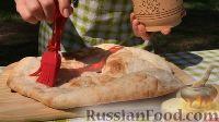 Фото приготовления рецепта: Курица на гриле, с овощами и соусом барбекю - шаг №20
