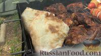 Фото приготовления рецепта: Курица на гриле, с овощами и соусом барбекю - шаг №23