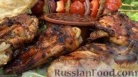 Фото приготовления рецепта: Курица на гриле, с овощами и соусом барбекю - шаг №24