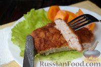 Фото к рецепту: Куриный шницель из фарша