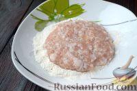 Фото приготовления рецепта: Куриный шницель из фарша - шаг №3