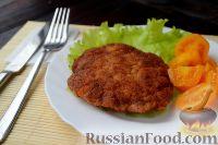 Фото приготовления рецепта: Куриный шницель из фарша - шаг №9