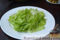 Фото приготовления рецепта: Салат с курицей, авокадо и брынзой - шаг №3