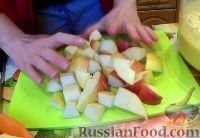 Фото приготовления рецепта: Шарлотка с яблоками (в мультиварке) - шаг №2