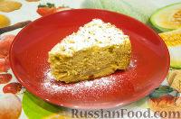 Фото приготовления рецепта: Шарлотка с яблоками (в мультиварке) - шаг №7