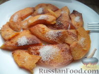 Фото к рецепту: Жареная тыква сладкая