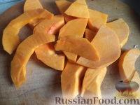 Фото приготовления рецепта: Жареная тыква сладкая - шаг №2