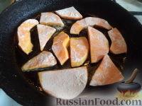 Фото приготовления рецепта: Жареная тыква сладкая - шаг №5