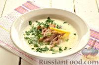 Фото приготовления рецепта: Чихиртма (куриный суп по-грузински) - шаг №11