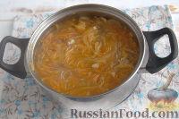 Фото приготовления рецепта: Густой грибной суп с фунчозой - шаг №7
