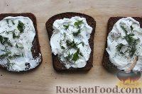 Фото приготовления рецепта: Бутерброды с сыром и овощами - шаг №6