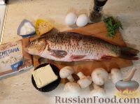 Фото приготовления рецепта: Карп фаршированный - шаг №1