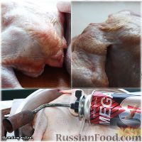 Фото приготовления рецепта: Цыплёнок таПака - шаг №2